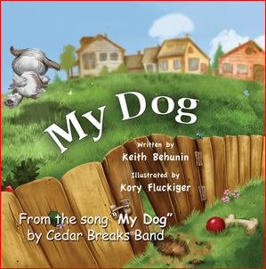 My Dog Children's Book available direct from the publisher or Amazon